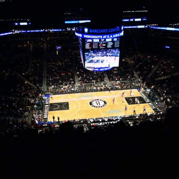NBA BarclaysCenter subligraphie de Marine Antic