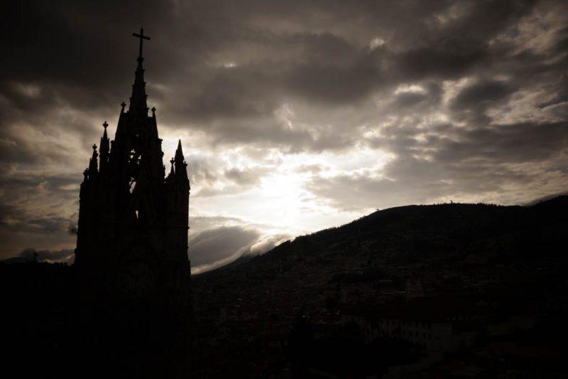 Quito Equateur subligraphie de Marine-Antic